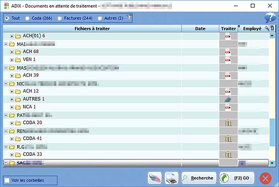 Adibox DP document en attente